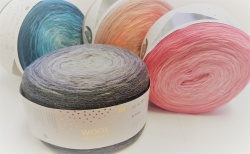New Rico Design Wool Degrade yarn