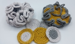 Crochet Coton Pads and Bath Puffs