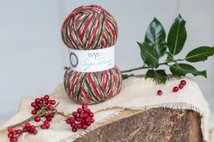 West Yorkshire Spinners Signature 4ply - Hollyberry 100g