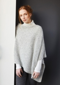 Plush Poncho knitting pattern by Martin Storey