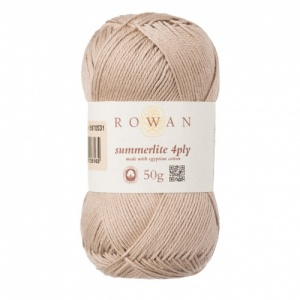 Rowan Summerlite 4ply 100% cotton 50g - Sand Dune
