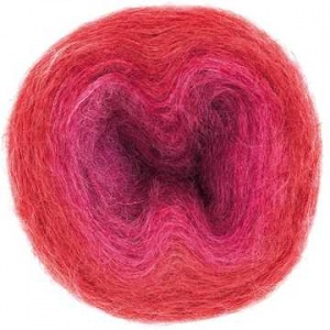 Rico Super Kid Mohair Loves Silk Colourlove - red, cerice
