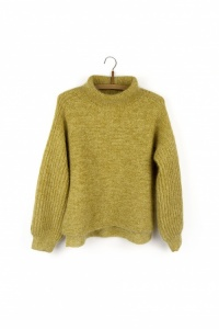Isager yarns jumper Windy kit in yellow
