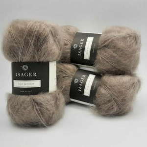 Isager Yarns Silk Mohair - taupe
