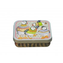 WOOLLY PUFFINS - POCKET TIN
