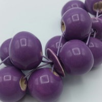 Bead kit for the Cluster necklace - purple