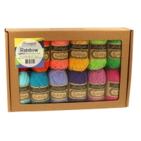 SCHEEPJES SOFTFUN COLOUR PACK 12X20G - RAINBOW