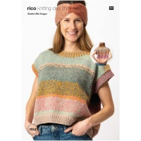 Rico Knitting pattern for ladies slipover