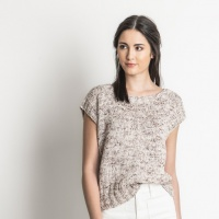 Blue Sky Fibers knitting Pattern Seven Sisters Top