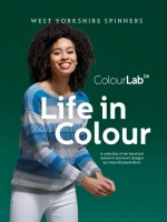 WYS Colourlab DK pattern book Life in Colour