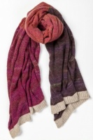 Eribe Knitwear Treeline Wrap - Old Rose