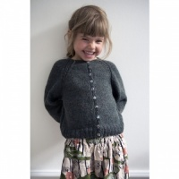 Isager knitting pattern for toddlers - Ingrid's Cardigan