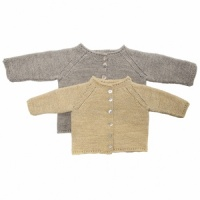 Isager knitting pattern for babies - Carl and Caroline