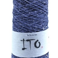 Ito Kinu 100% silk yarn 50g - Blueberry