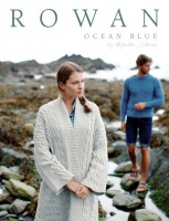 Rowan Ocean Blue knitting pattern book
