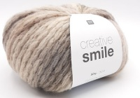 Rico Design Creative Smile Superchunky yarn - Snow