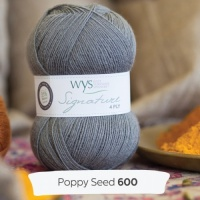 West Yorkshire Spinners Signature 4ply - Poppy Seed 100g