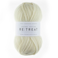 WYS Re:Treat Chunky Rowing yarn 100g - Pure