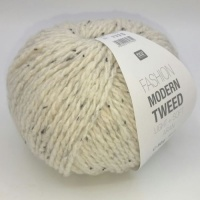 Rico Fashion Modern Tweed Aran - cream