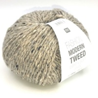 Rico Fashion Modern Tweed Aran - ecru