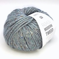 Rico Fashion Modern Tweed Aran - light blue