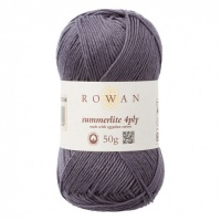 Rowan Summerlite 4ply 100% cotton 50g - Anchor Grey