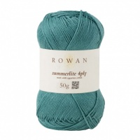 Rowan Summerlite 4ply 100% cotton 50g - Aqua
