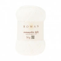 Rowan Summerlite 4ply 100% cotton 50g - Ecru