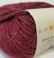 Rowan Felted tweed Aran 50g - Cherry