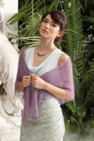 Free Rowan downloadable pattern Triangle Shawl