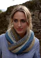 Arabella cowl knitting pattern