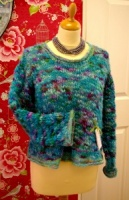 Downloadable knitting  pattern  - chunky jumper