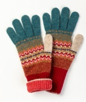 Eribe Fairisle Alba Gloves - Lugano
