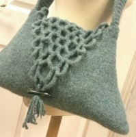 EX Display sample  - Felted Shoulder Bag