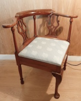 George III period corner chair