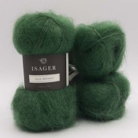 Isager Yarns Silk Mohair - leaf green