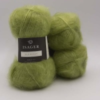 Isager Yarns Silk Mohair - apple