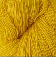 Isager yarns Spinni  100g skeins - yellow
