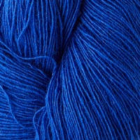 Isager yarns Spinni  100g skeins - cobalt