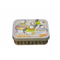 WOOLLY PUFFINS - MINI RECTANGULAR TIN