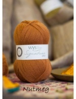West Yorkshire Spinners Signature 4ply - Nutmeg 100g