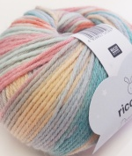 Rico Baby Dream DK - pale pink, coral, mint, grey, pale blue