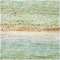 Rico Fashion Cotton Double Printed DK 50g - mint