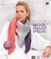 Rico Design pattern booklet for Wool Degrade yarn