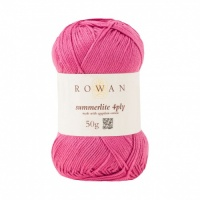 Rowan Summerlite 4ply 100% cotton 50g - Pinched Pink